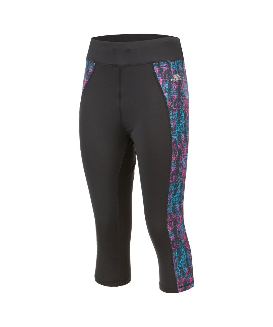 Image for Trespass Womens/Ladies Nixie 3/4 Active Leggings
