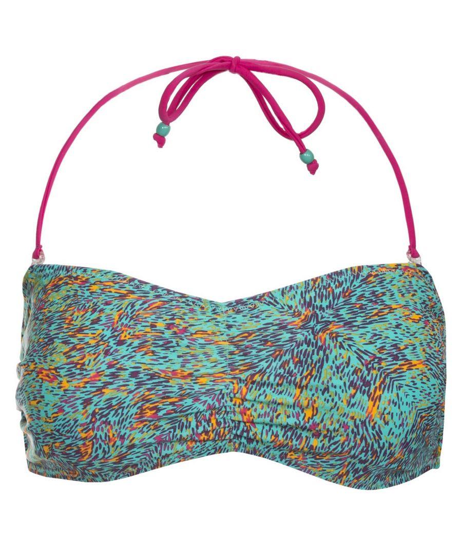 Image for Trespass Womens/Ladies Linear Bandeau Bikini Top
