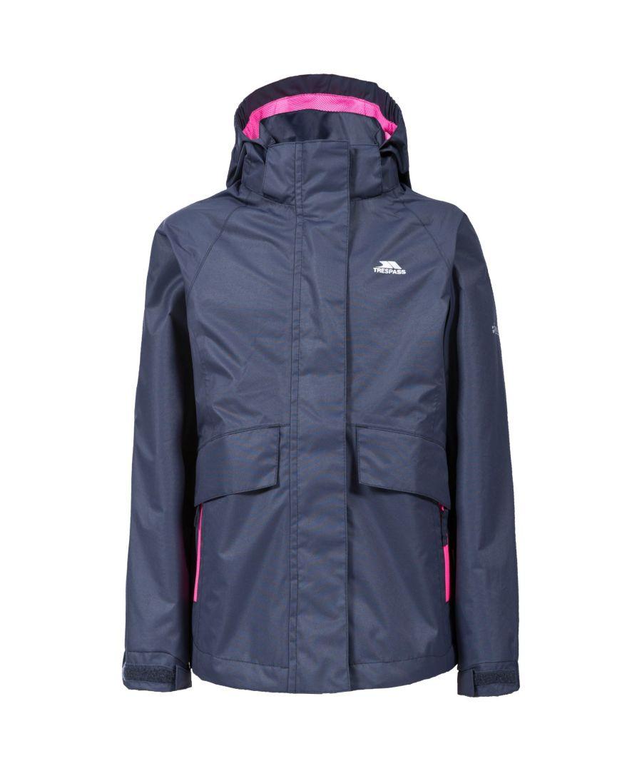 Image for Trespass Childrens Girls Harwood Waterproof Jacket