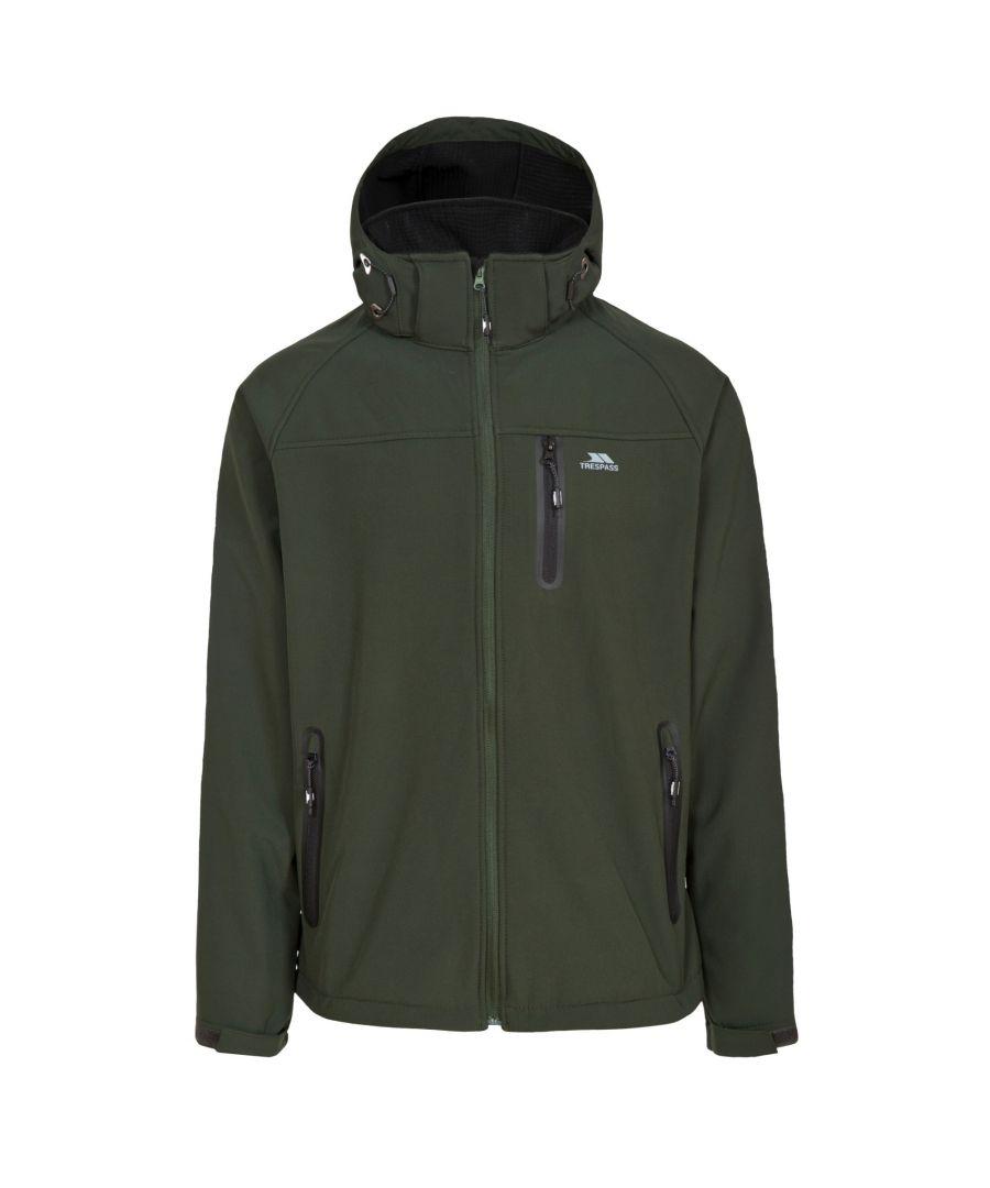 Image for Trespass Mens Accelerator II Waterproof Softshell Jacket