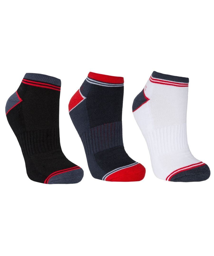 Image for Trespass Mens Lapse Trainer Socks (3 Pairs)