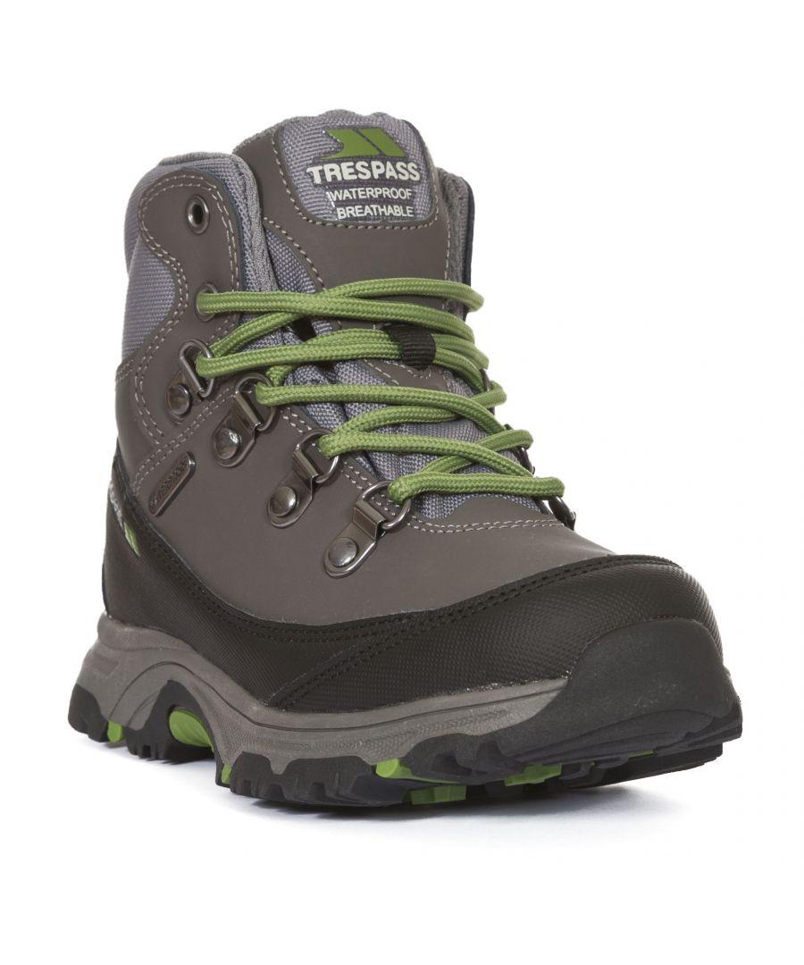 Image for Trespass Childrens/Kids Glebe II Waterproof Walking Boots