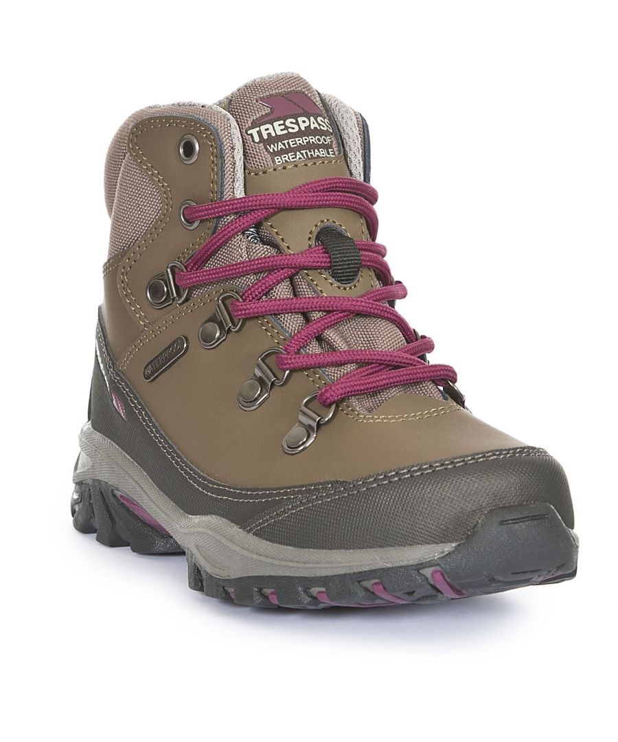 Image for Trespass Childrens/Kids Glebe II Waterproof Walking Boots