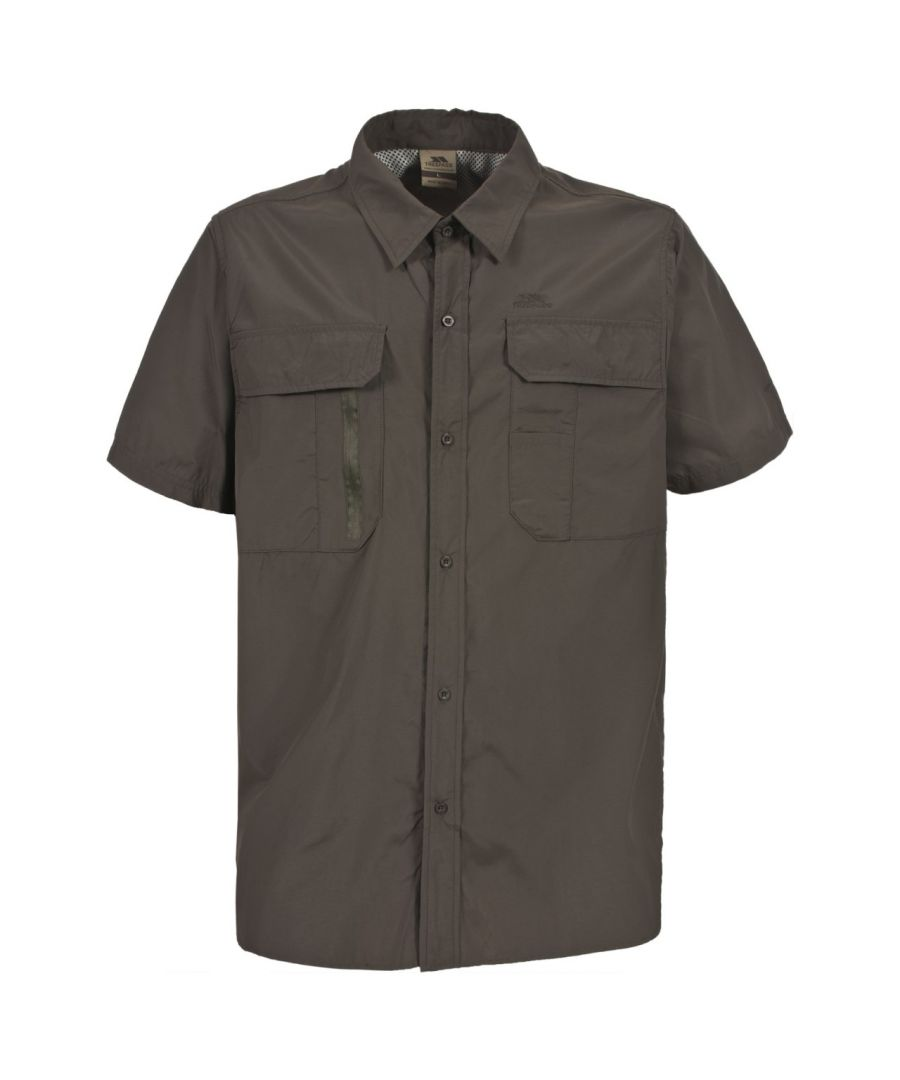 Image for Trespass Mens Colly Short Sleeve Quick Dry Shirt