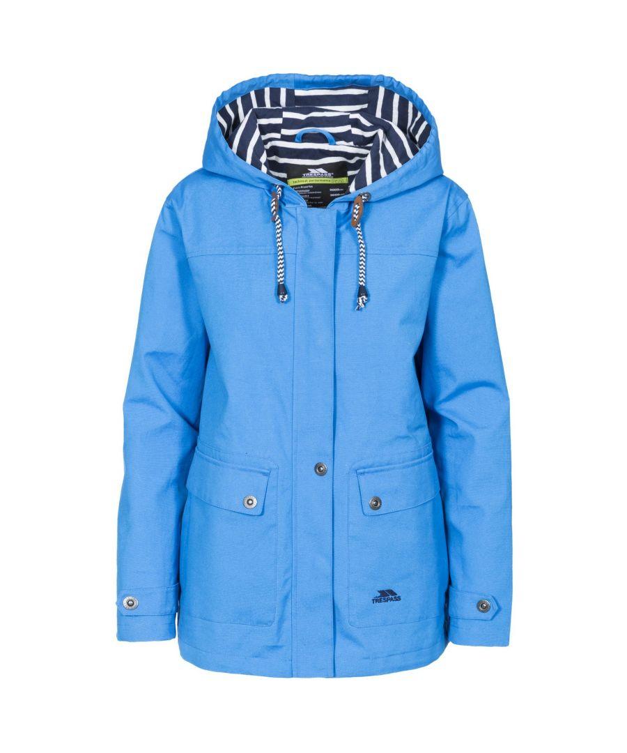 Image for Trespass Womens/Ladies Seawater Waterproof Jacket