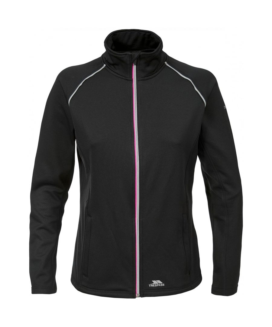 Image for Trespass Womens/Ladies Teegan Full Zip Long Sleeve Active Top