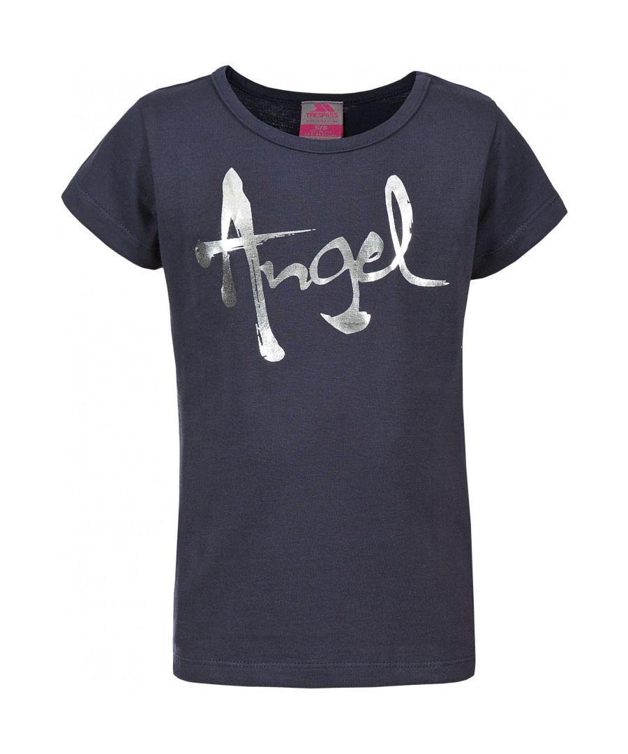 Image for Trespass Childrens Girls Avis Short Sleeve T-Shirt