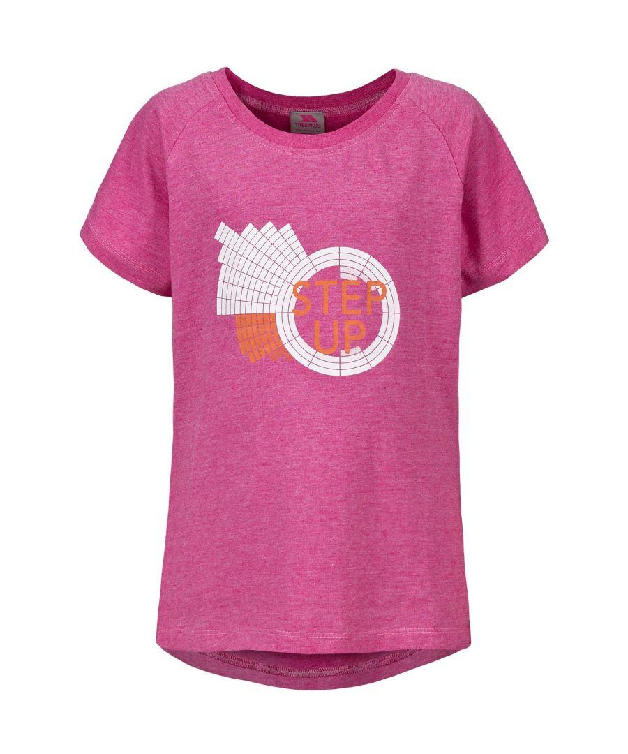 Image for Trespass Childrens Girls Elva Short Sleeve T-Shirt