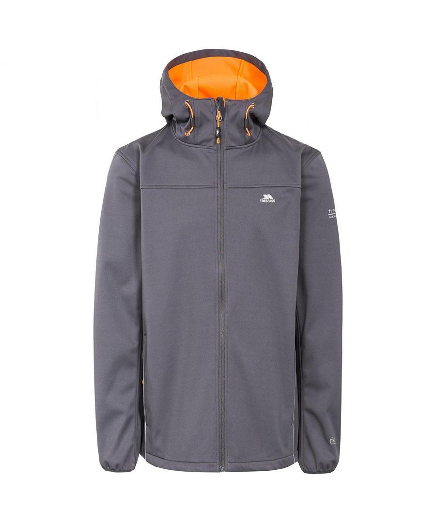Image for Trespass Mens Zeek Waterproof Softshell Jacket