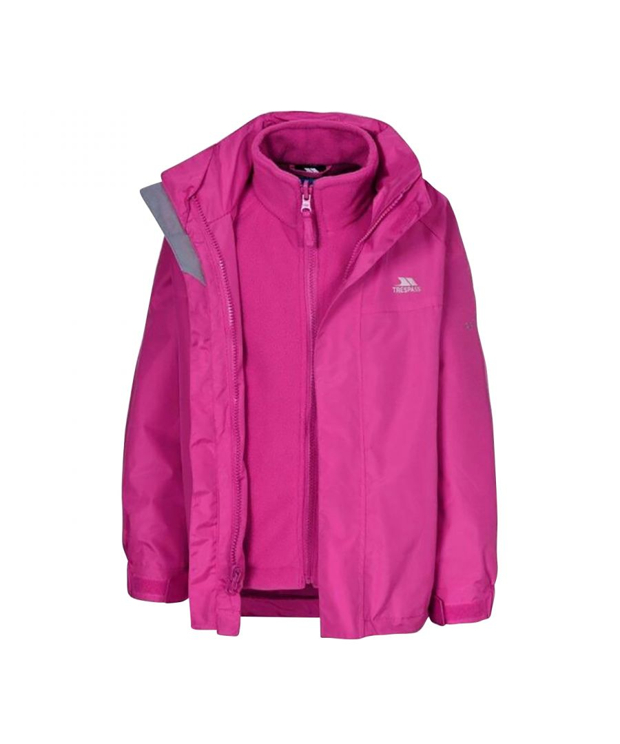 Image for Trespass Girls Prime II Waterproof 3-In-1 Jacket