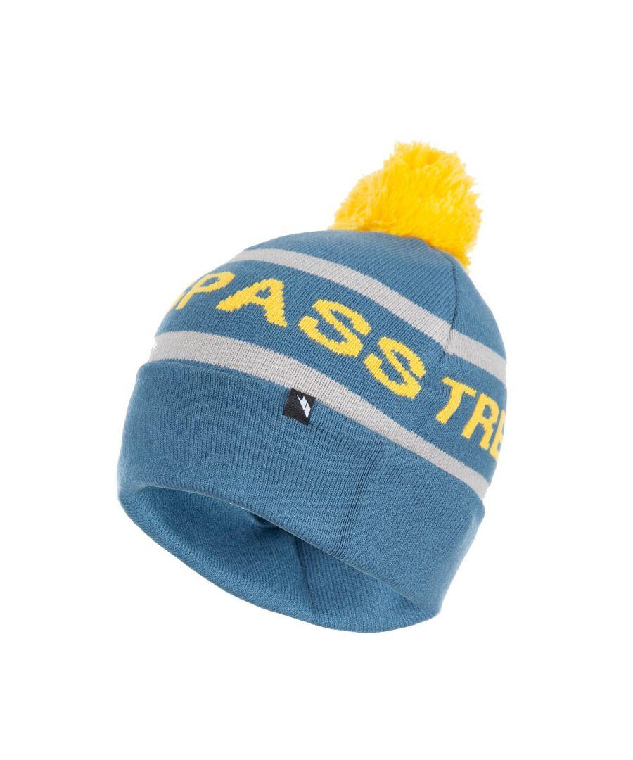 Image for Trespass Mens Fitz Bobble Slouch Beanie Hat