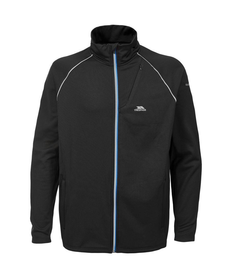 Image for Trespass Mens Clive Full Zip Active Top