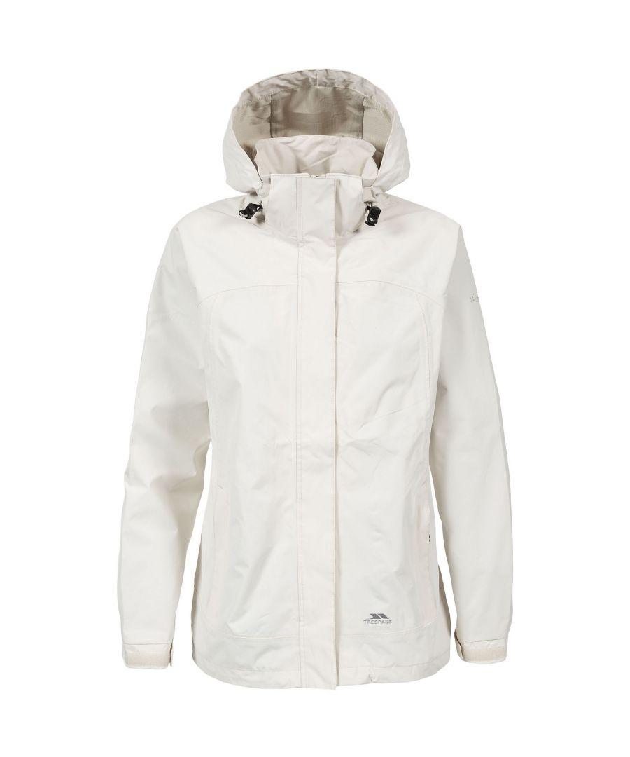 Image for Trespass Womens/Ladies Nasu II Waterproof Shell Jacket