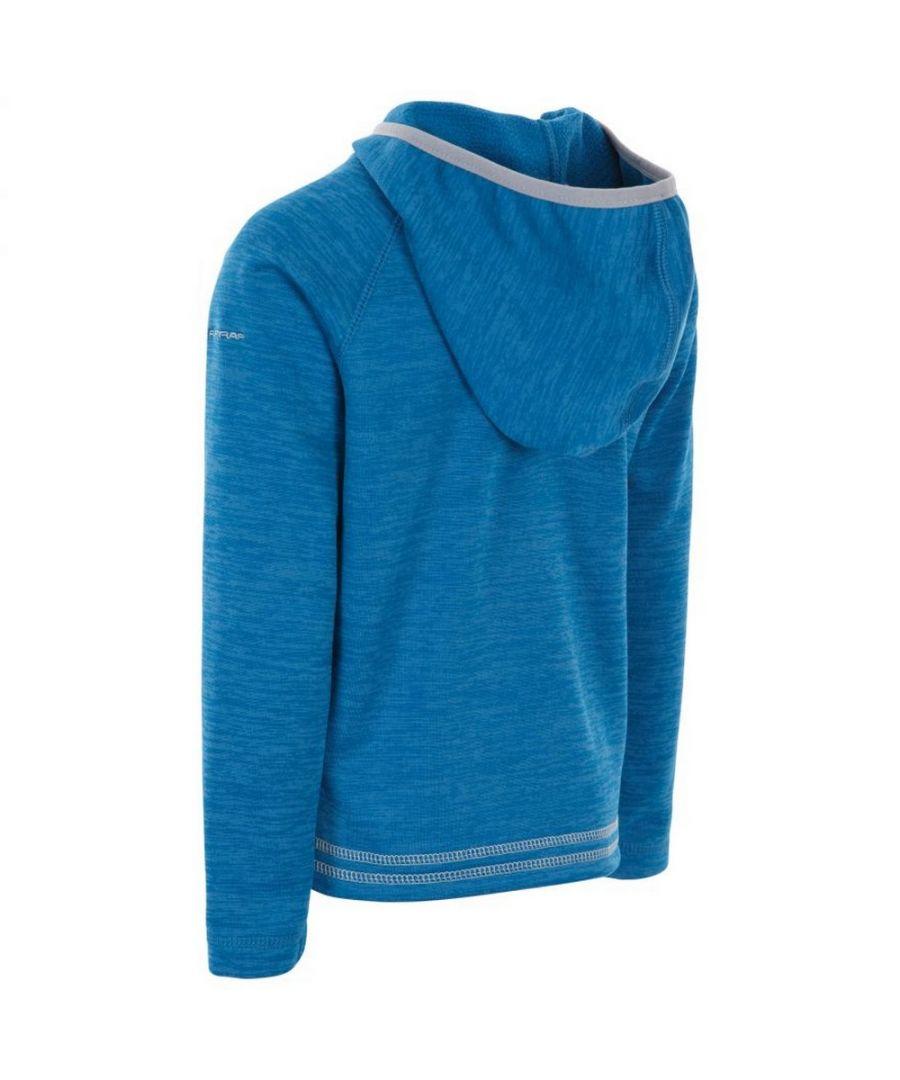 Image for Trespass Childrens Girls Goodness Full Zip Hooded Fleece Jacket