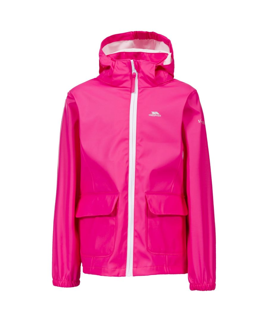 Image for Trespass Childrens Girls Nella Waterproof Jacket