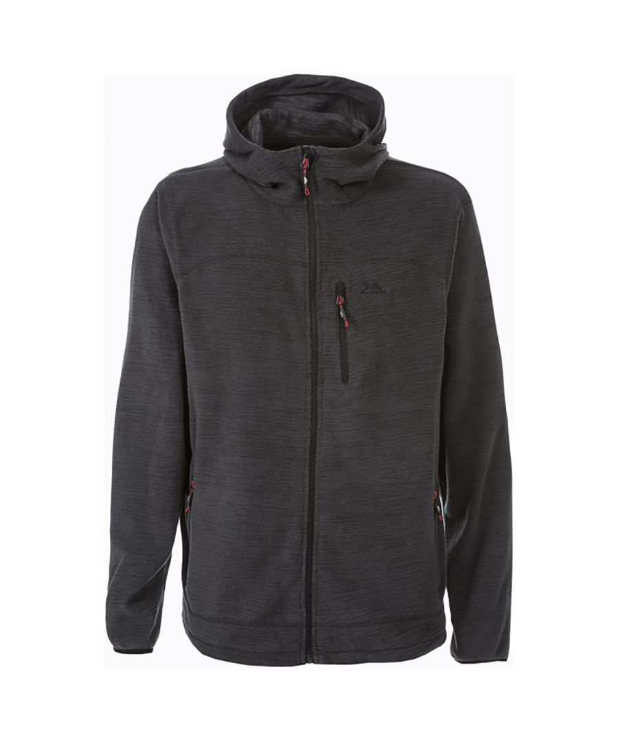 Image for Trespass Mens Barack Full Zip Hooded Fleece Jacket