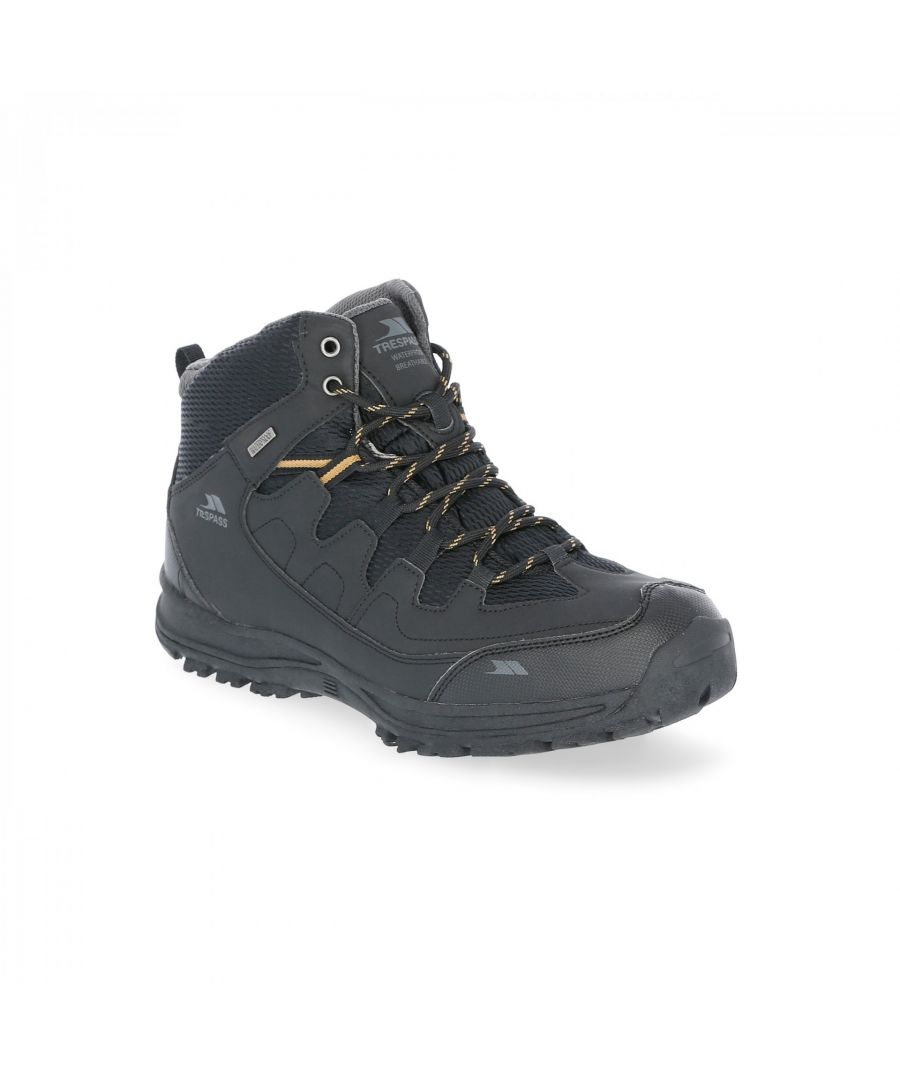 Image for Trespass Mens Finley Waterproof Walking Boots
