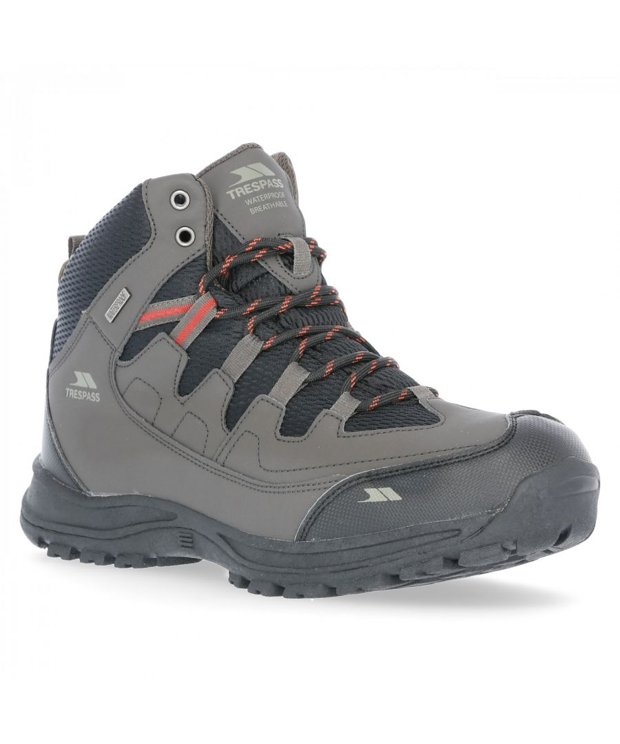 Image for Trespass Mens Finley Waterproof Walking Boots