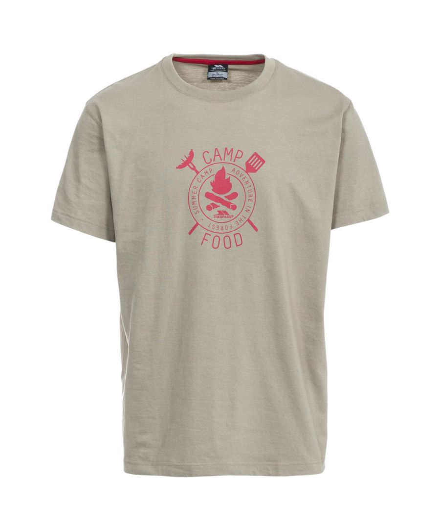 Image for Trespass Mens Adder Casual Short Sleeve T-Shirt