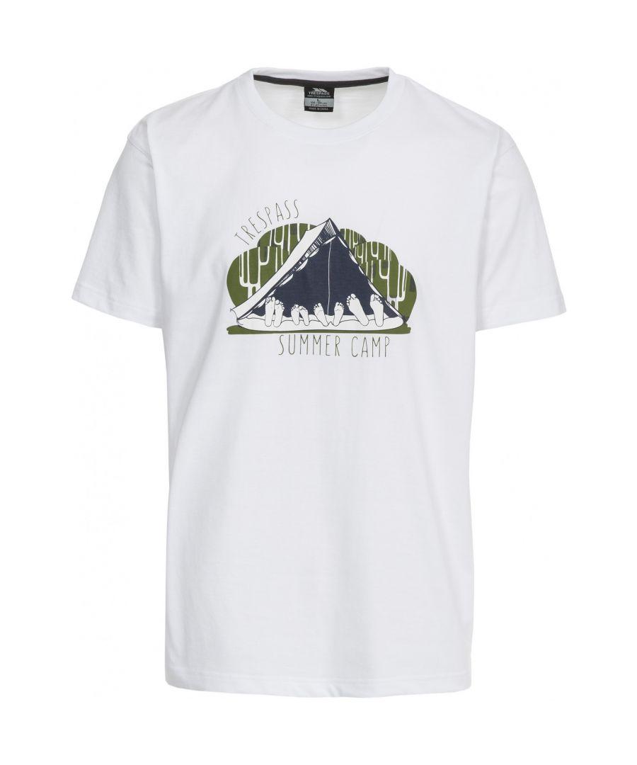 Image for Trespass Mens Camp Casual Short Sleeve T-Shirt