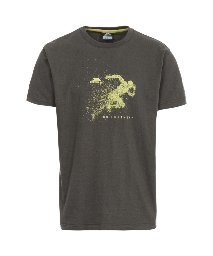 Image for Trespass Mens Lyons Casual Short Sleeve T-Shirt