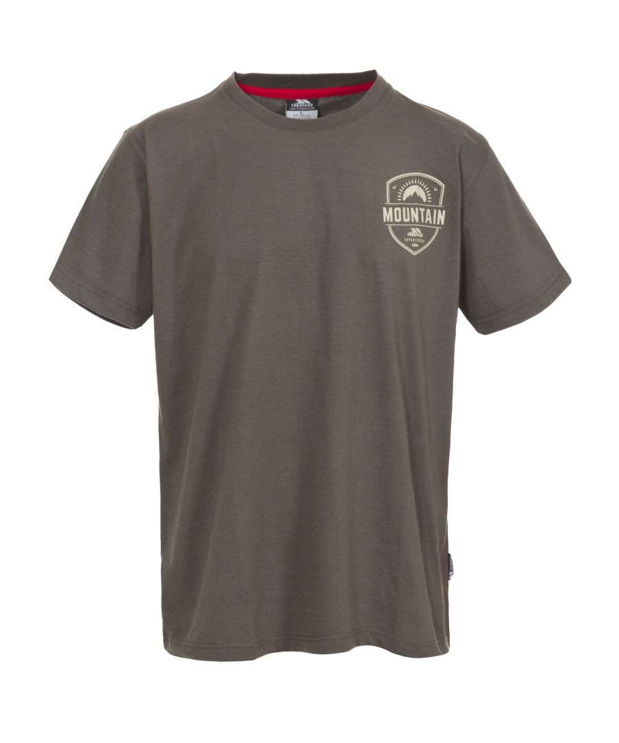 Image for Trespass Mens Rawhider Casual Short Sleeve T-Shirt