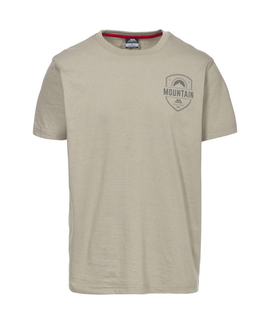 Image for Trespass Mens Rawhider Casual Short Sleeve T-Shirt