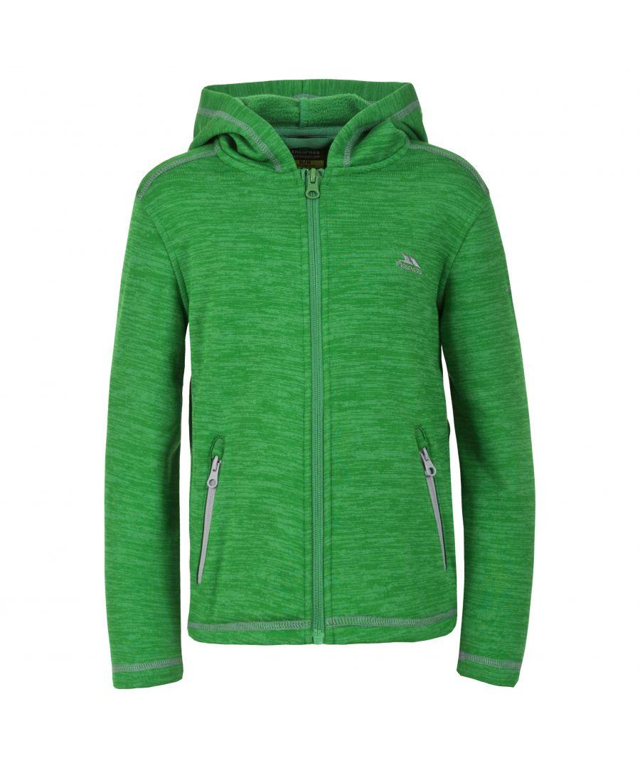 Image for Trespass Childrens Boys Shaw Full Zip Hooded Fleece Jacket