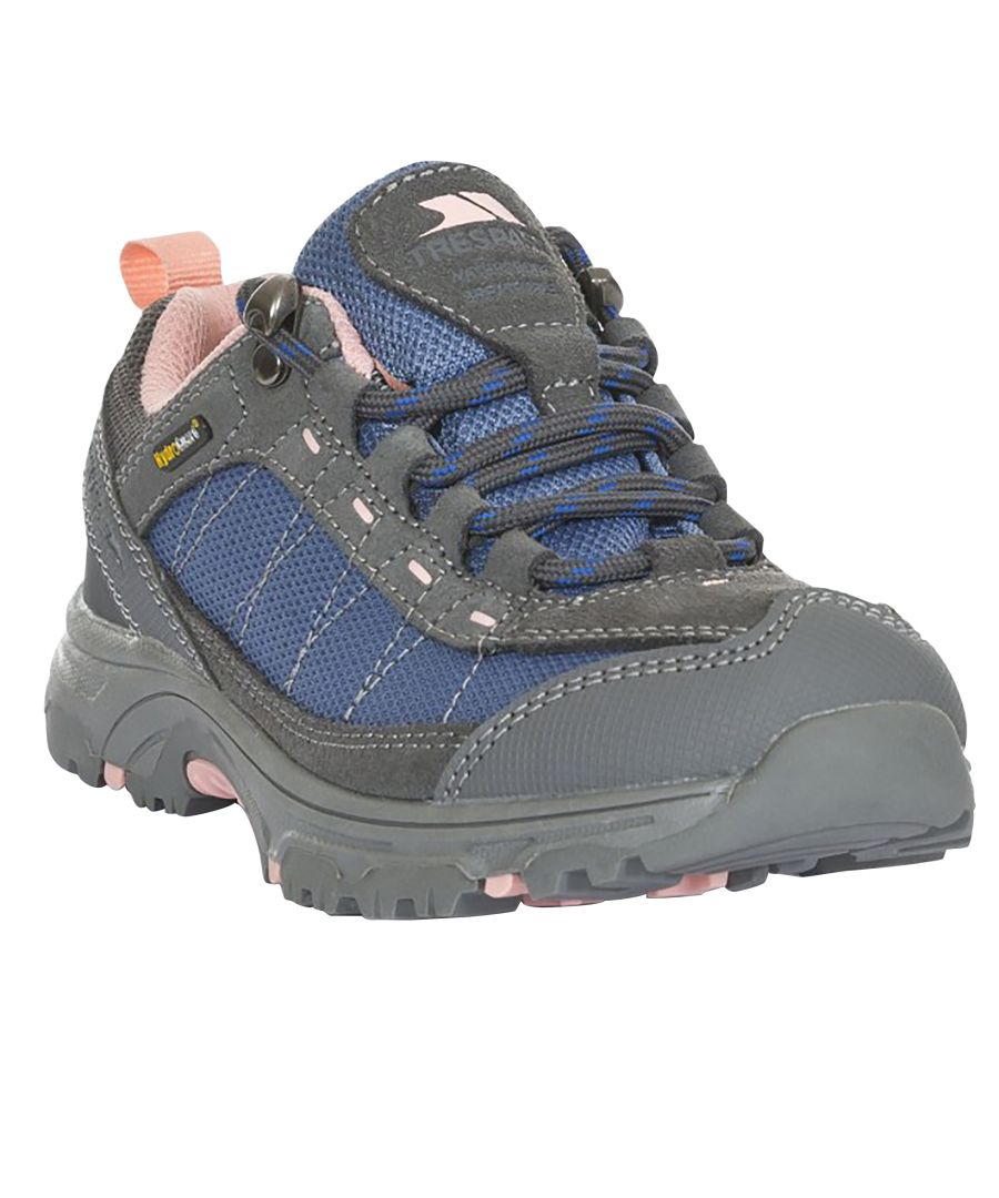 Image for Trespass Childrens/Kids Hamley Waterproof Walking Shoes (Marlin Blush)