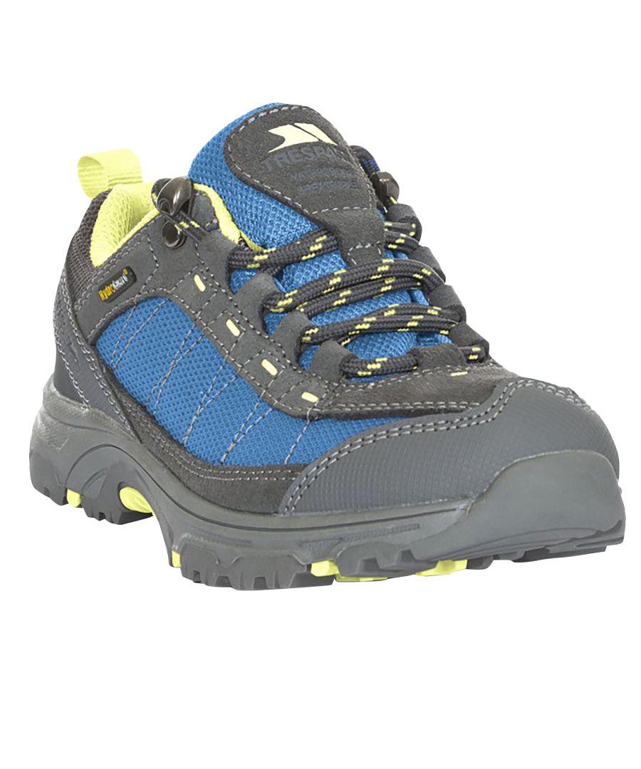 Image for Trespass Childrens/Kids Hamley Waterproof Walking Shoes (Cobalt Kiwi)