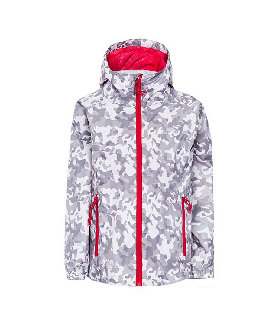 Image for Trespass Childrens/Kids Qikpac Waterproof Packaway Printed Jacket