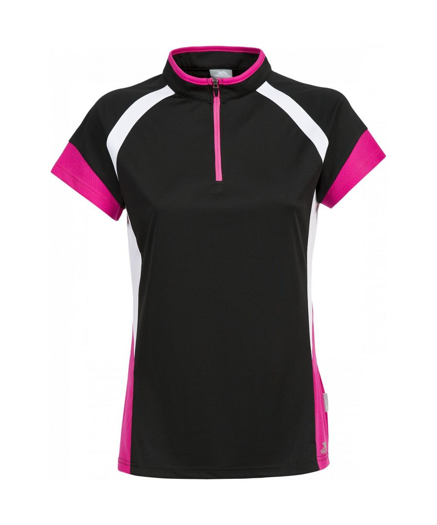 Image for Trespass Womens/Ladies Harpa Short Sleeve Cycling Top
