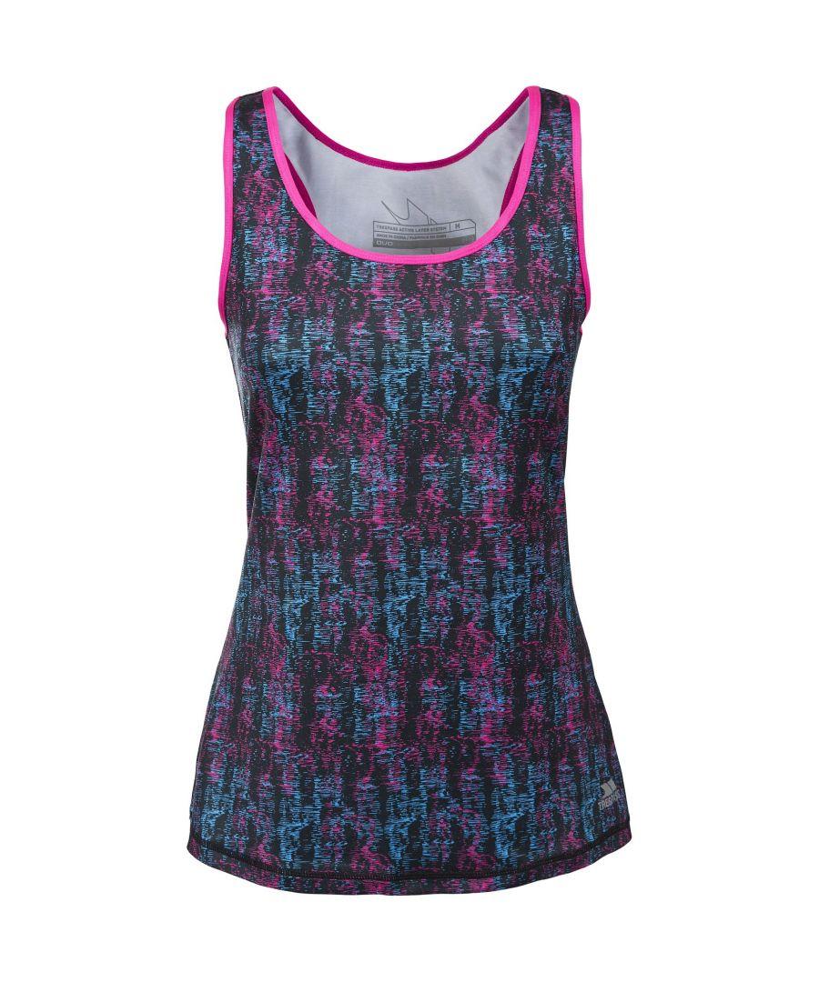 Image for Trespass Womens/Ladies Selma Active Sleeveless Vest Top