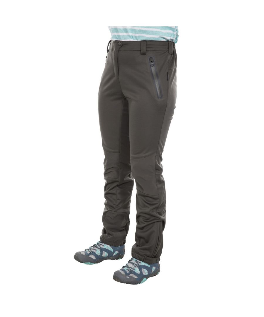 Image for Trespass Womens/Ladies Sola Softshell Outdoor Trousers