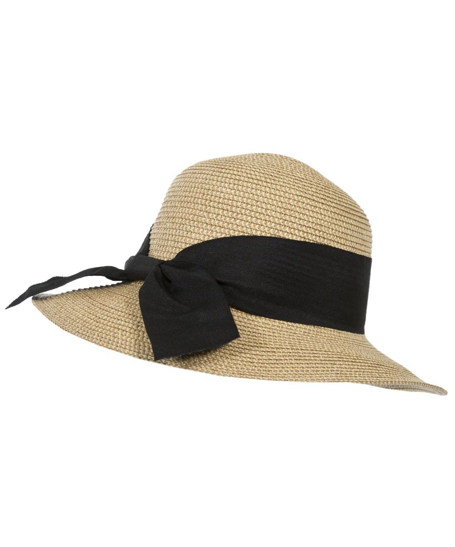 Image for Trespass Womens/Ladies Brimming Straw Summer Hat