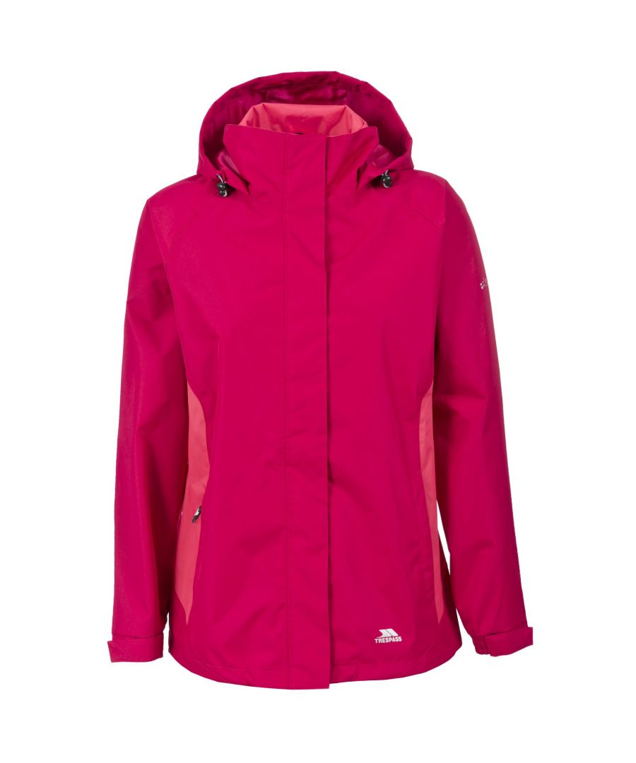 Image for Trespass Womens/Ladies Tarron II Waterproof Shell Jacket