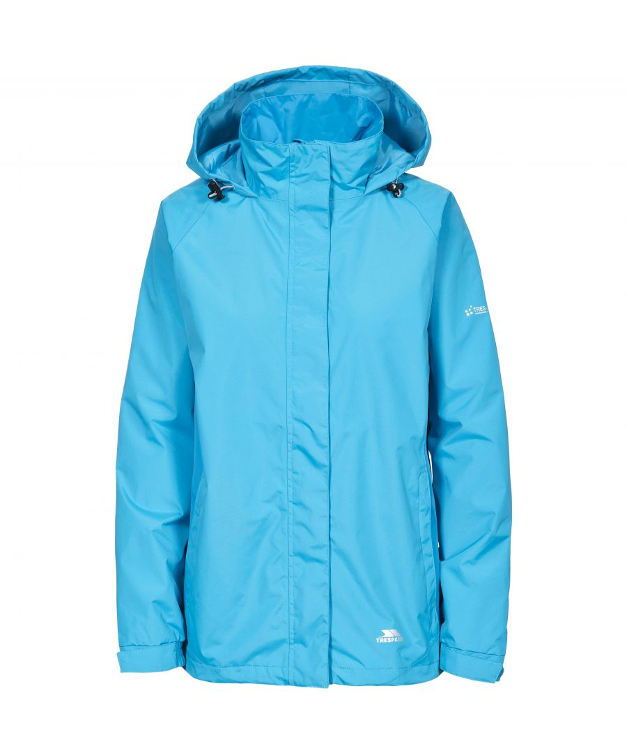 Image for Trespass Womens/Ladies Tarron II Waterproof Shell Jacket