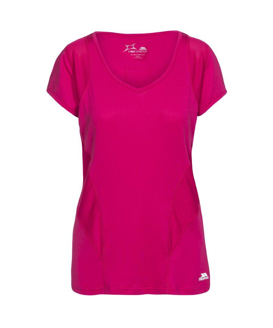 Image for Trespass Womens/Ladies Erlin Short Sleeve Sports T-Shirt