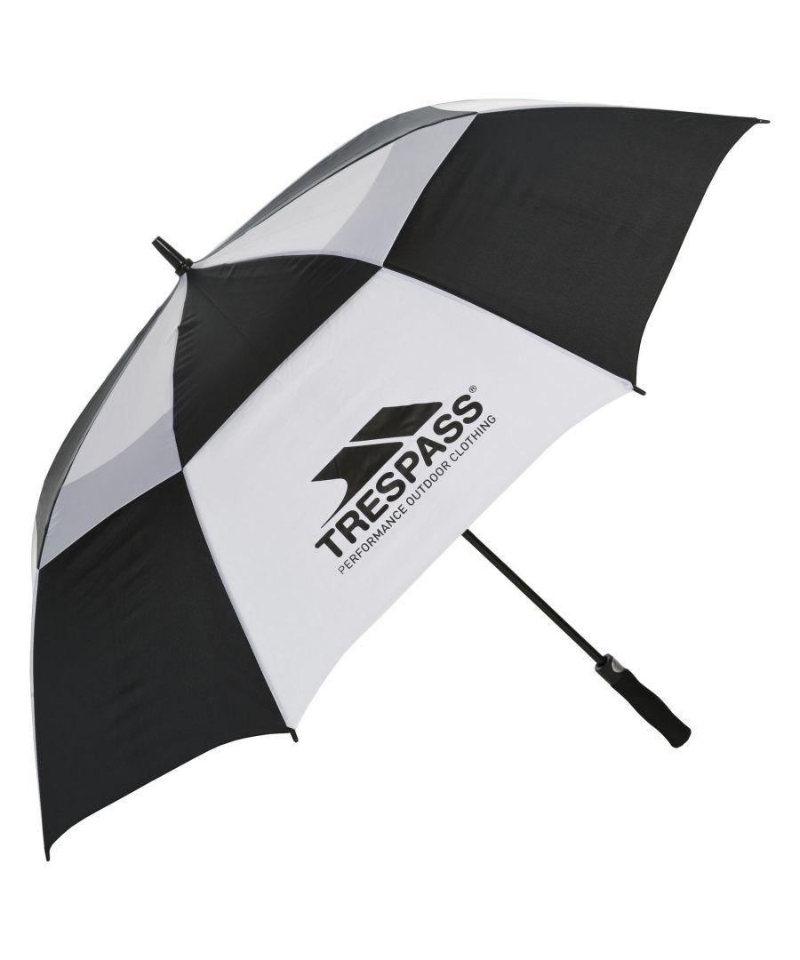 Image for Trespass Catterick Automatic Umbrella (Black/White)