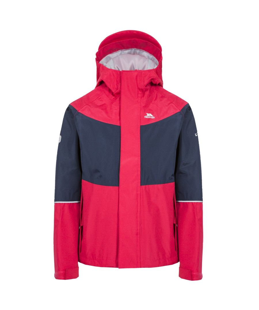 Image for Trespass Childrens/Kids Ossie Waterproof Jacket
