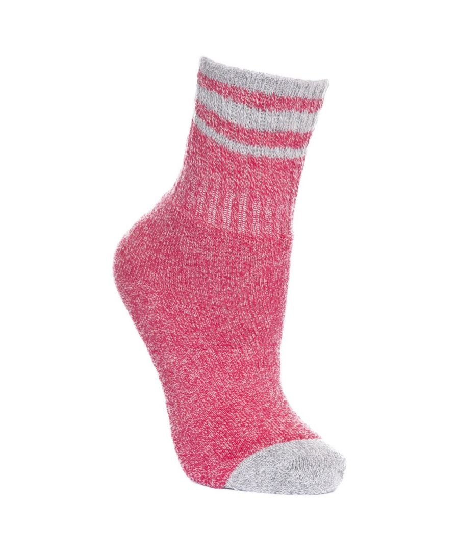 Image for Trespass Childrens/Kids Vic Anti-Blister Boot Socks (Raspberry Marl)