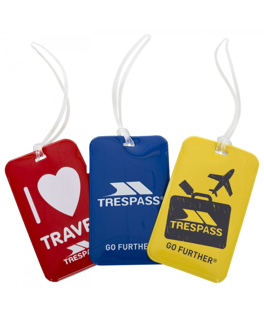 Image for Trespass Traveltrio Luggage Tags (Pack Of 3)