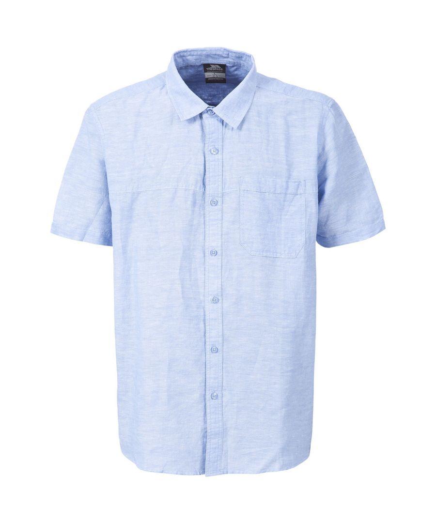 Image for Trespass Mens Saratov Short Sleeve Casual Shirt