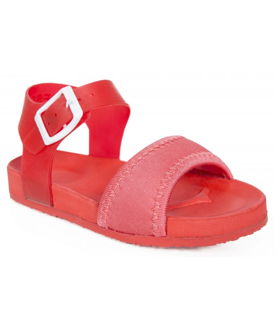 Image for Trespass Childrens Girls Rosalie Buckle Sandals