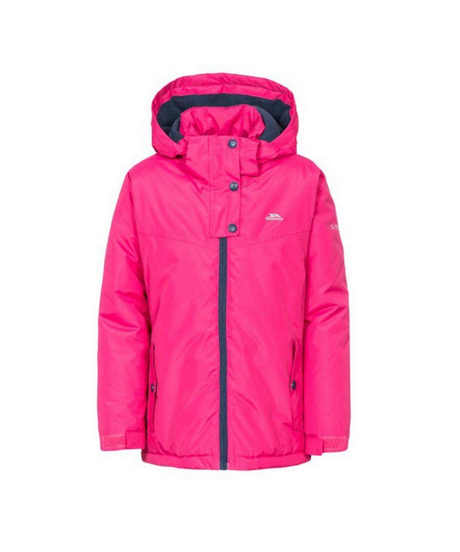 Image for Trespass Childrens Girls Maybole Waterproof Jacket