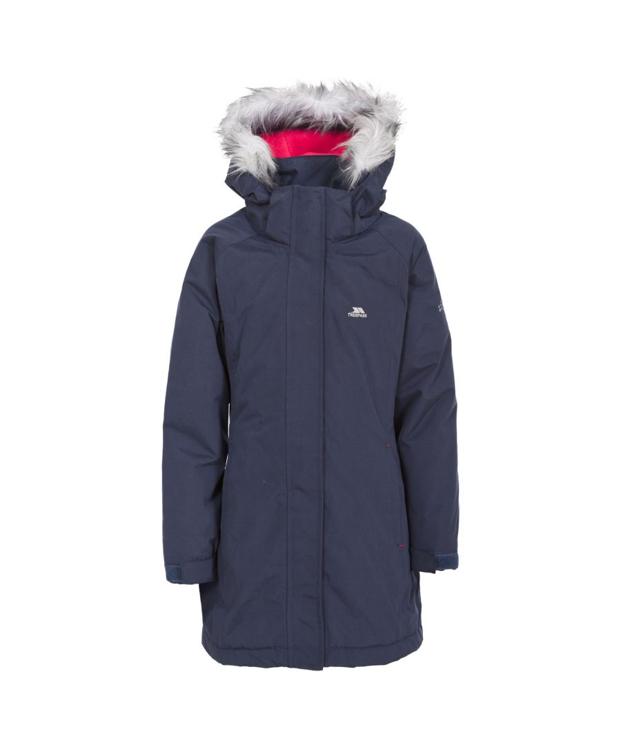 Image for Trespass Childrens Girls Fame Waterproof Parka Jacket