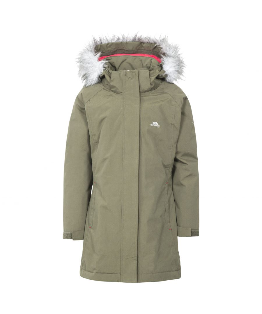 Image for Trespass Childrens Girls Fame Waterproof Parka Jacket