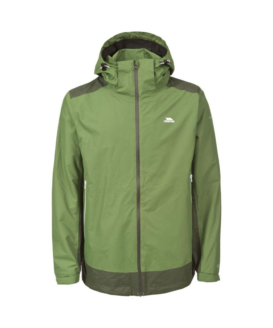 Image for Trespass Mens Judah Waterproof Jacket (Spinach)