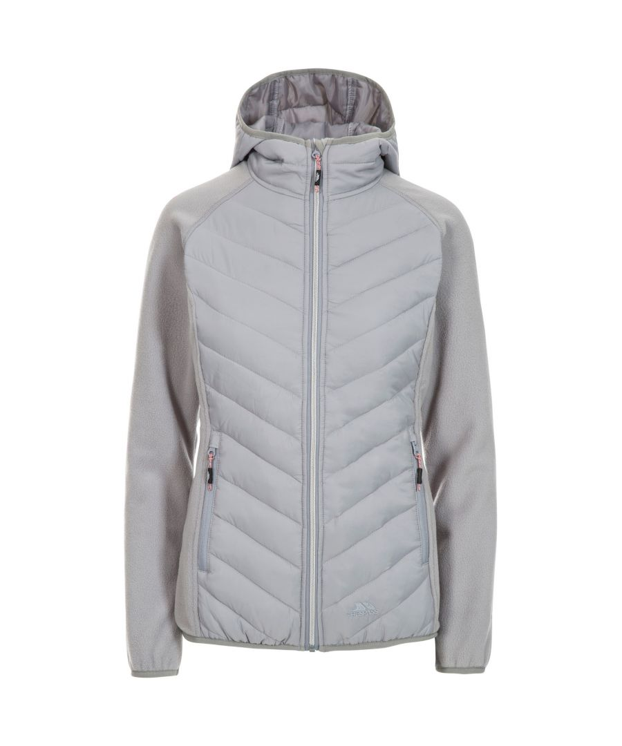 Image for Trespass Womens/Ladies Boardwalk Padded Hooded Fleece Jacket