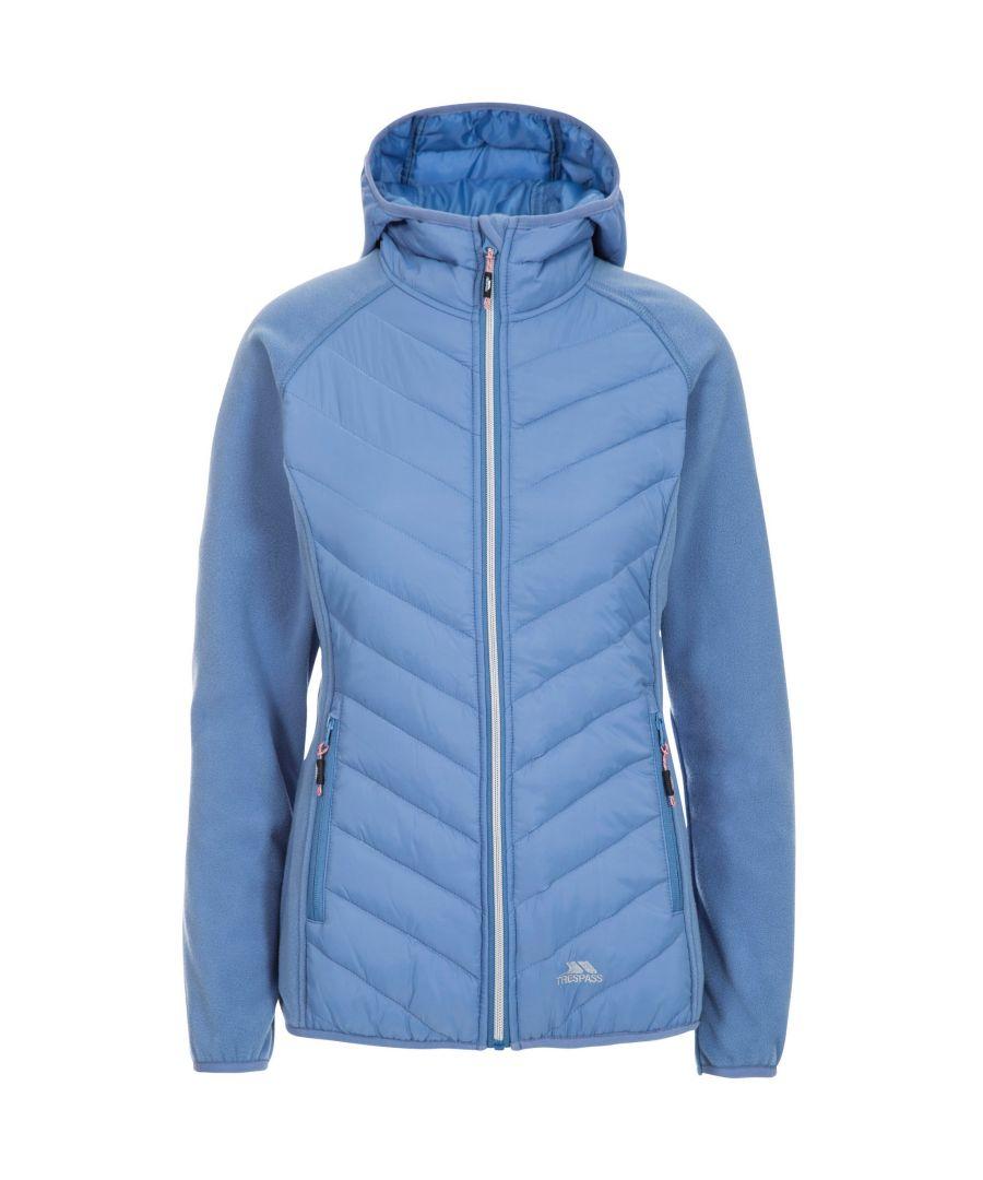 Image for Trespass Womens/Ladies Boardwalk Padded Hooded Fleece Jacket